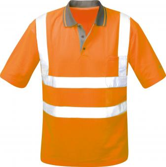 Warn-Poloshirt orange